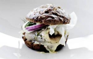 Theherring burger